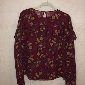 Abercrombie & Fitch long sleeve blouse